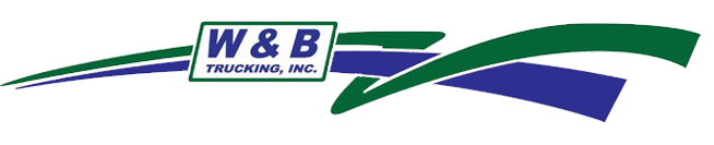 W & B Trucking, Inc. Logo